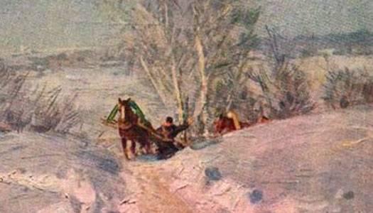 Описание картины мороз и солнце