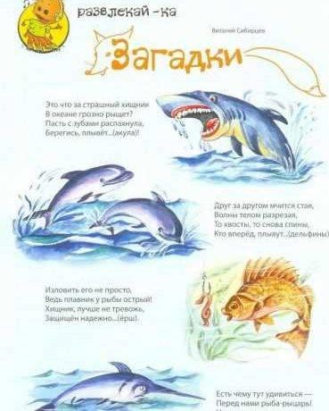 Картинка моря для детей