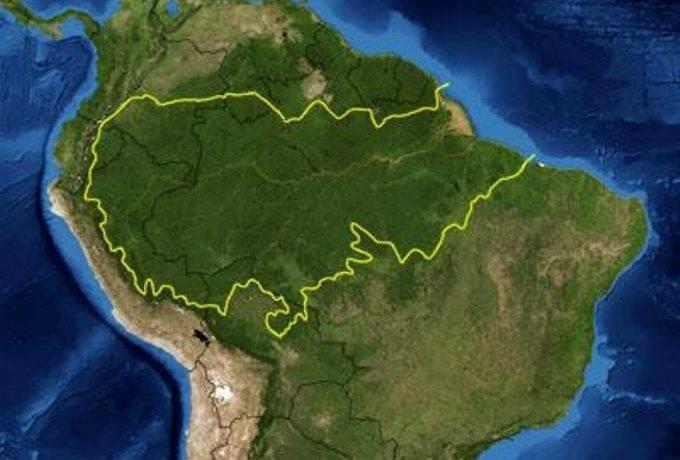 Амазонка в африке