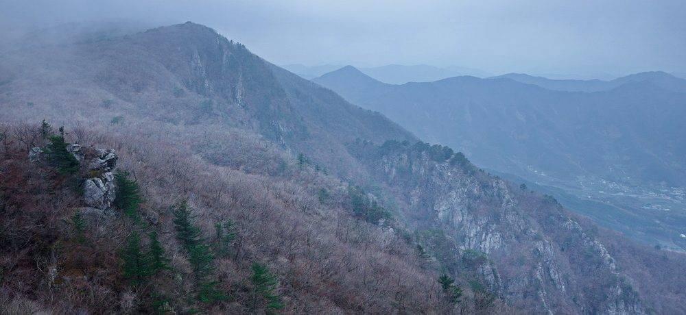 Поздняя осень в горах