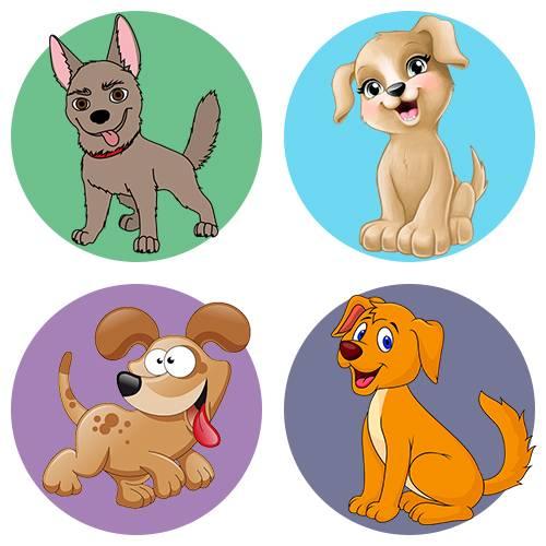 Детские картинки собаки