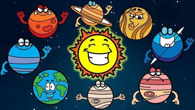 Радиусы планет солнечной системы