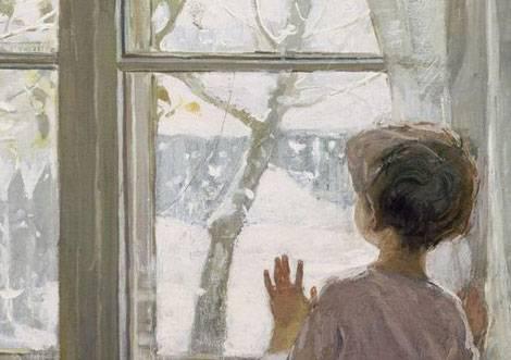 Зима пришла детство тутунов описание картины