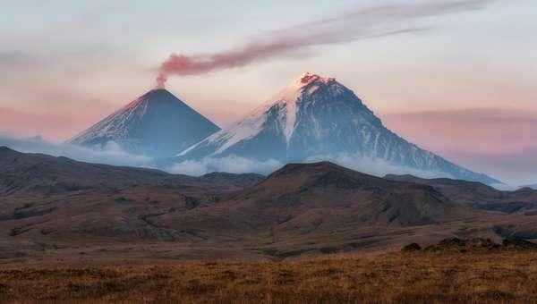 Самая высокая гора на камчатке