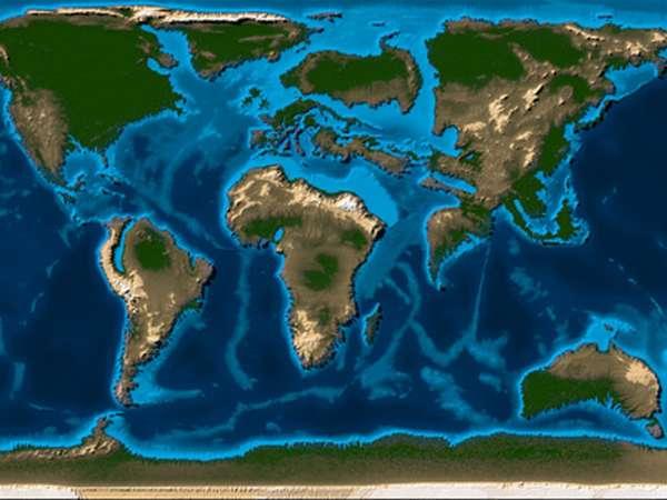 Количество материков на планете земля