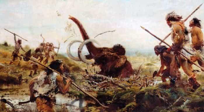 Сколько лет назад жили мамонты