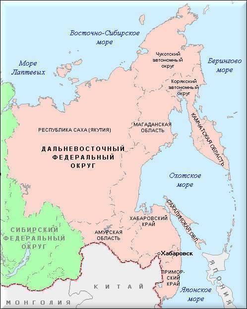 Полуостров на востоке россии