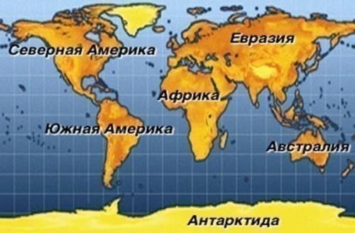 Континент определение