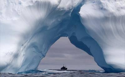 Южный океан на карте мира фото