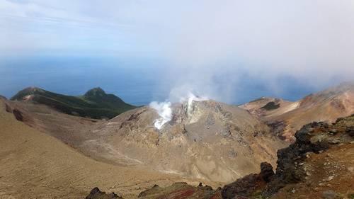 Сообщение о действующем вулкане