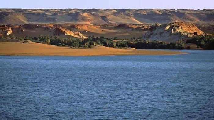 Описание озер