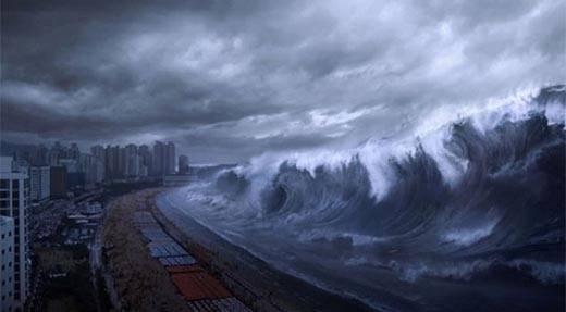 Что является причиной возникновения цунами