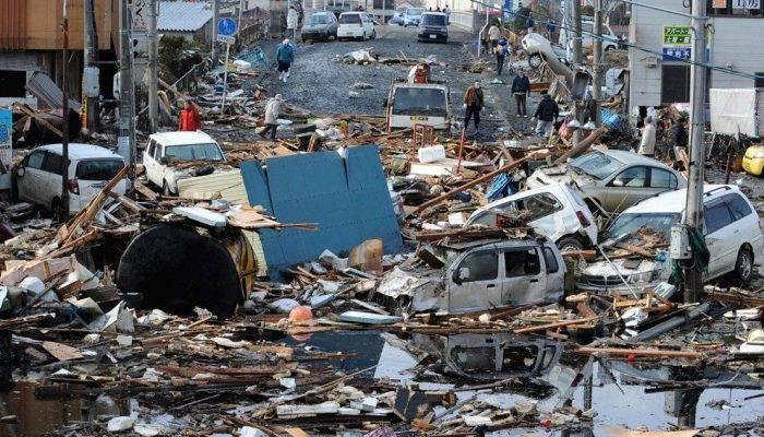 Поражающие факторы цунами