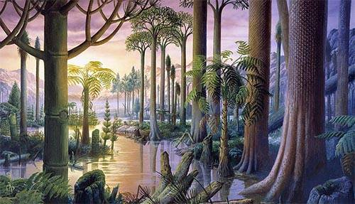 Каменноугольный период палеозоя