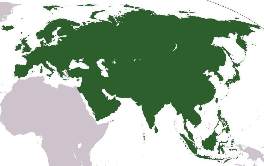 Европа и азия это части света