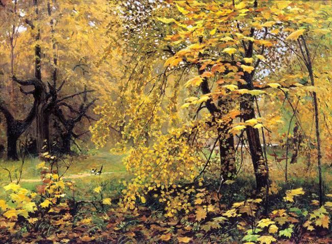 Илья семенович остроухов золотая осень