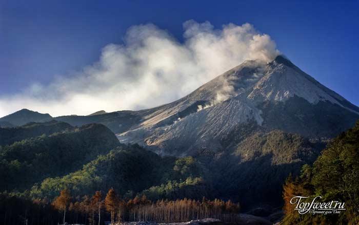 Топ 10 вулканов мира