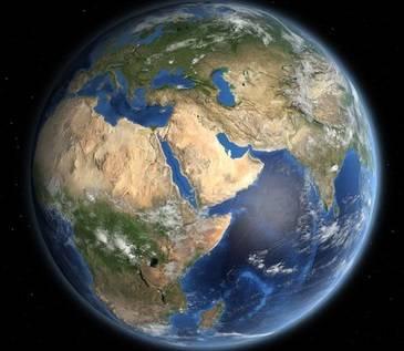 Текст про планету земля