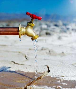 Как распространена вода на земле
