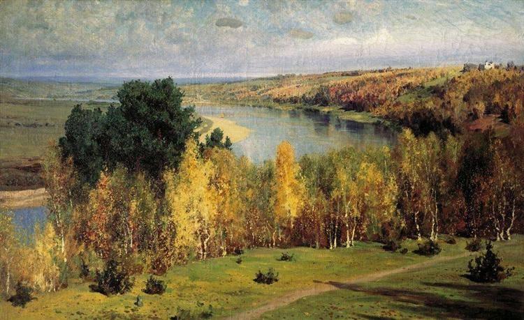 Картина поленова золотая осень фото
