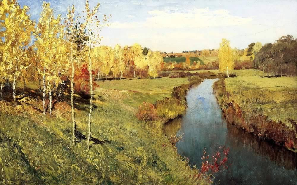 Описание картин про осень