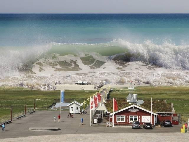 Причины образования цунами