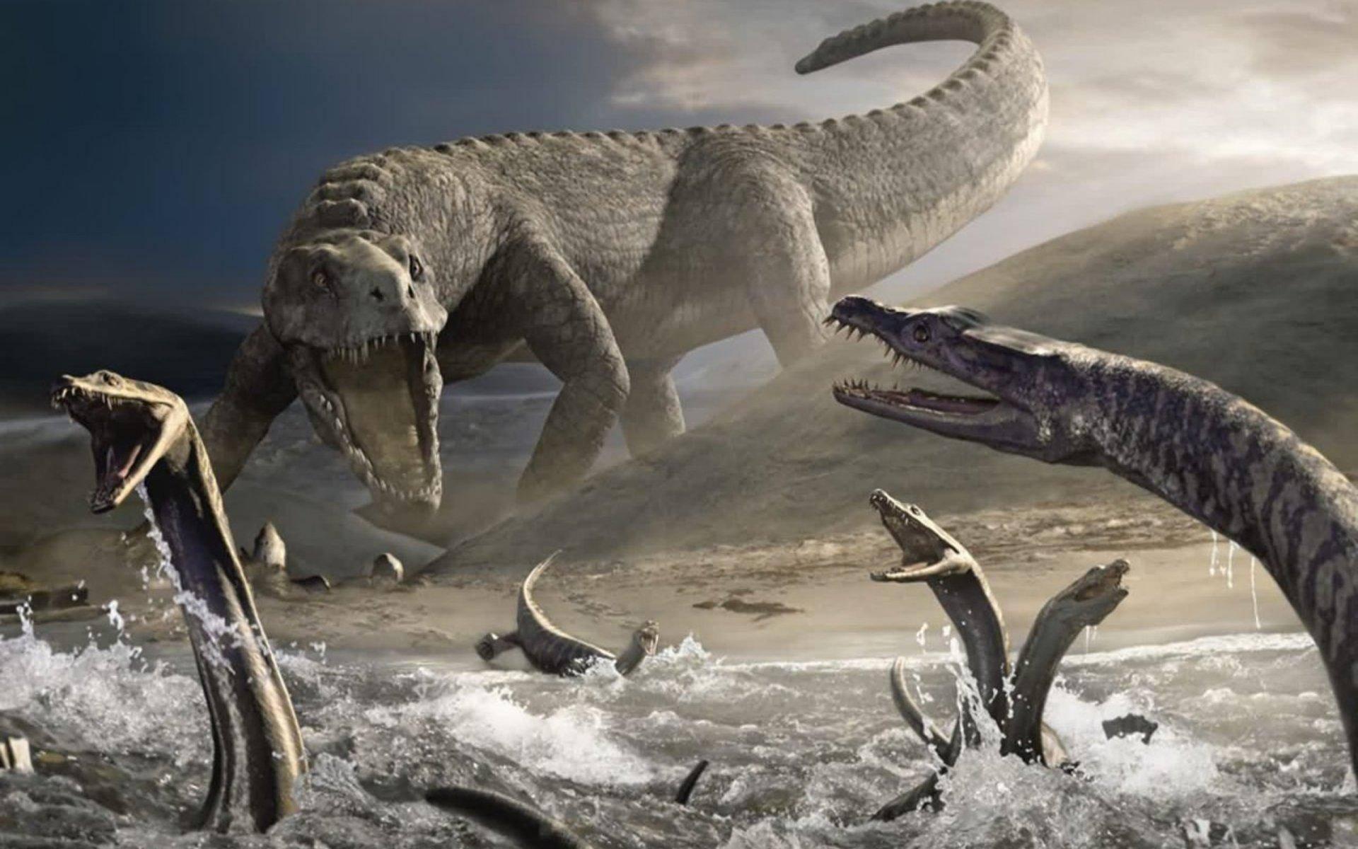 Как произошли динозавры