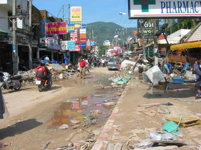 Цунами 2004 года в тайланде фото
