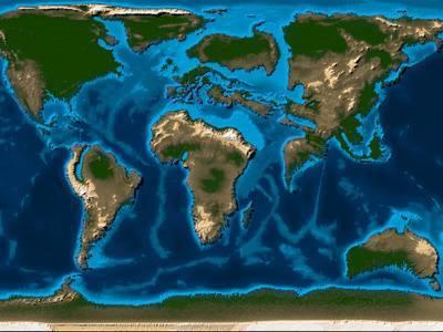 Назви материків світу