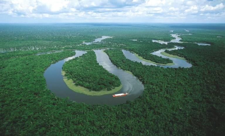 Куда впадает река амазонка