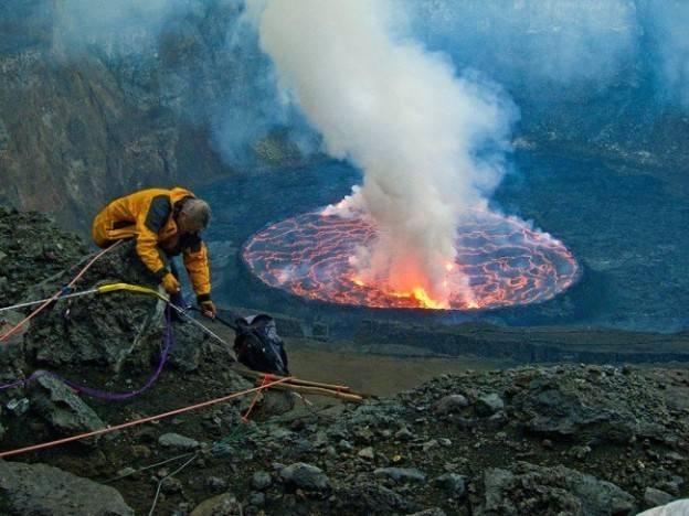 Самый сильный вулкан в мире