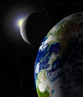 Влияние луны на землю и человека