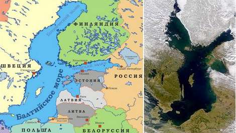 Типы морей россии