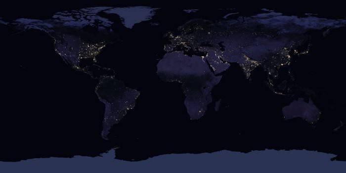 Самая большая плотность населения в мире