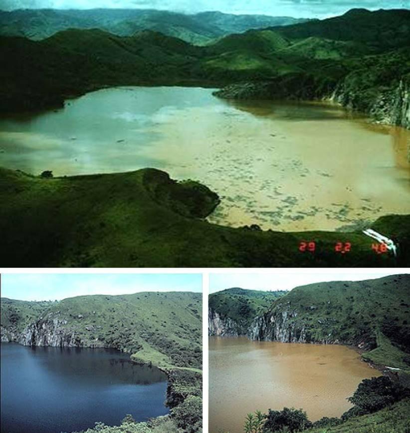 Самое теплое озеро в мире