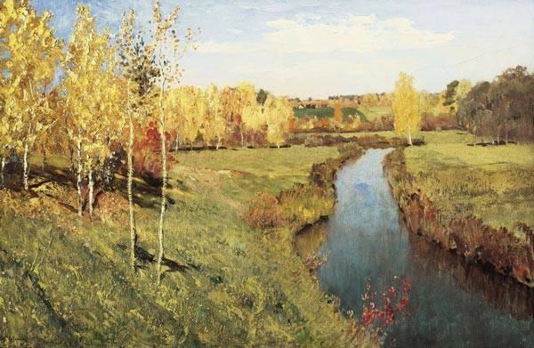 Сочинение описание картины левитана золотая осень