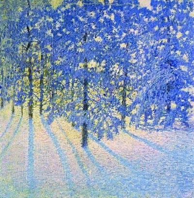 Сочинение по картине зимнее утро