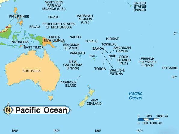 Какие бывают материки на карте