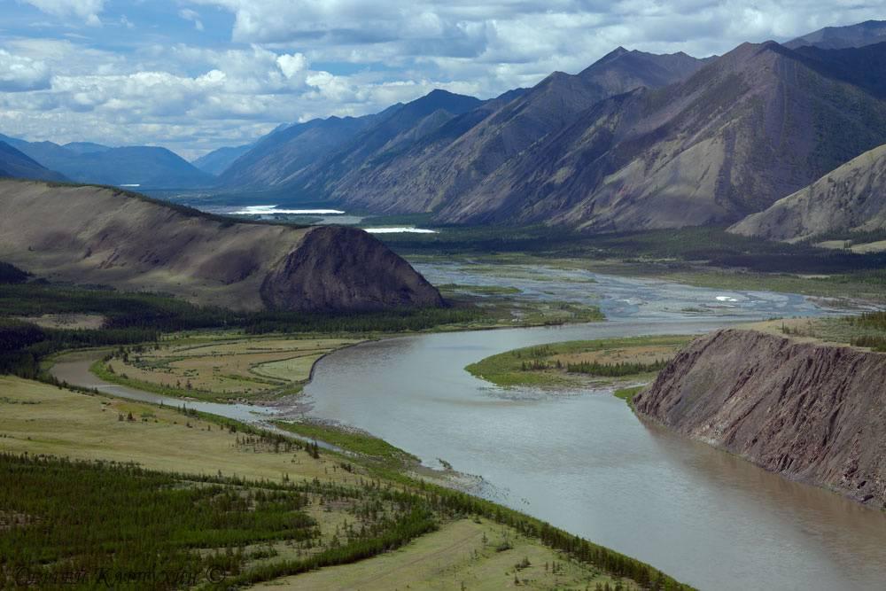Реки азиатской части россии