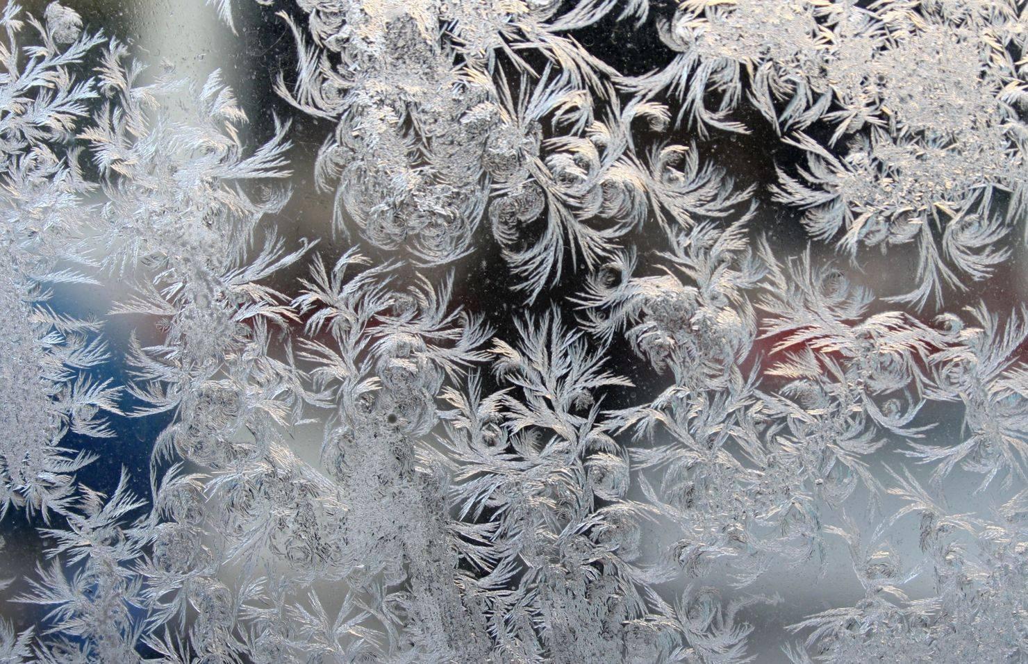 Узоры морозные