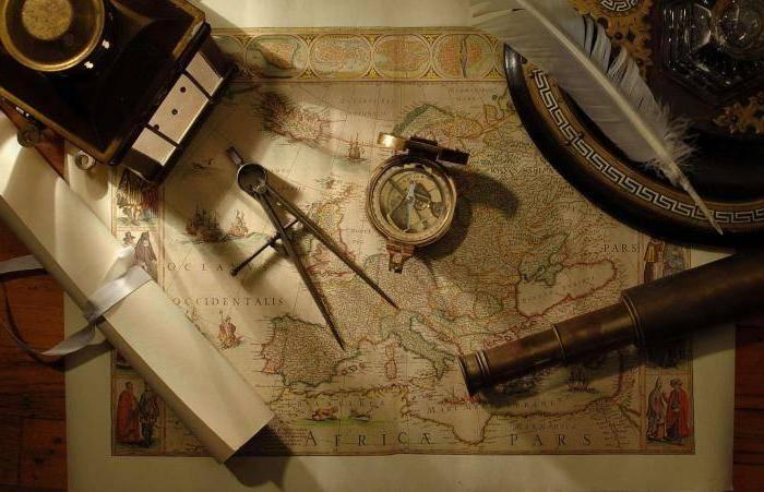 Происхождение слова география