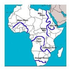 Какие реки есть в африке