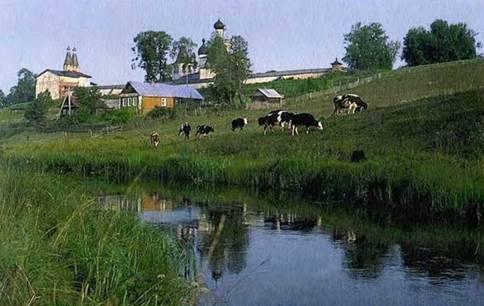 Описание природы в деревне