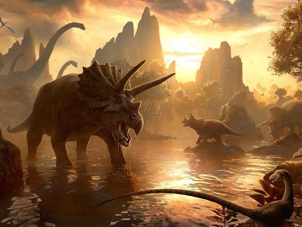 Сколько лет назад появились динозавры