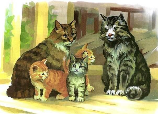 Стихи о домашних животных