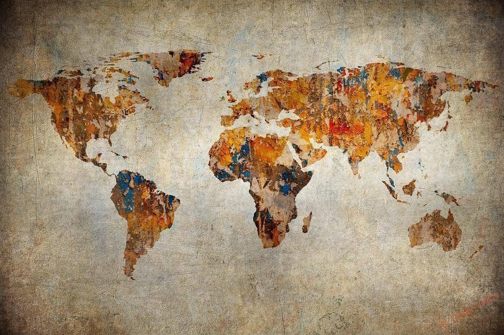Материки мира список
