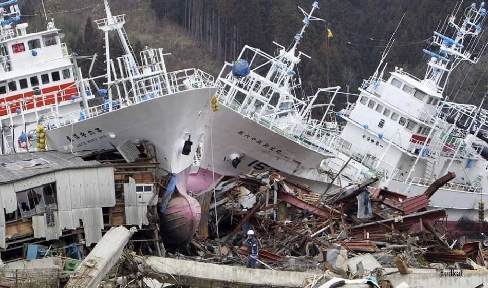 Примеры цунами