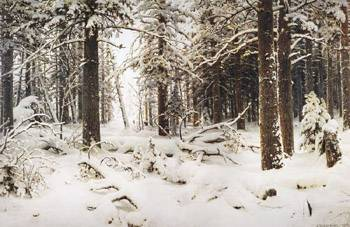 Сочинение описание картины шишкина зима