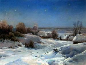 А с пушкин зима
