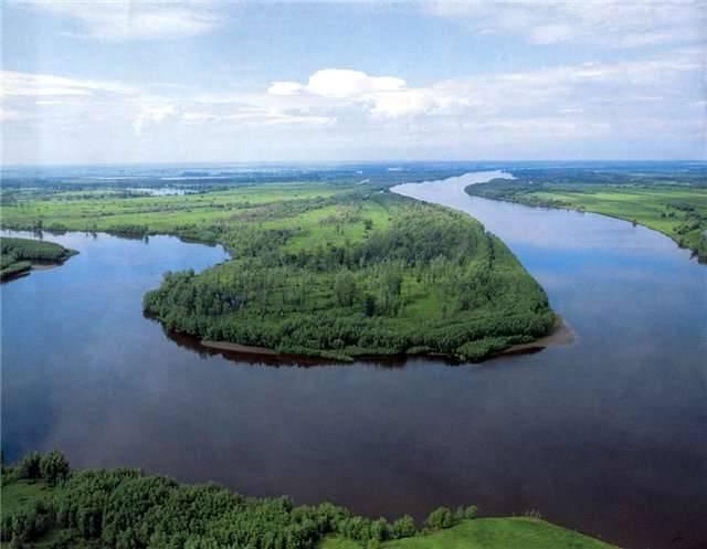 Обь река на карте россии